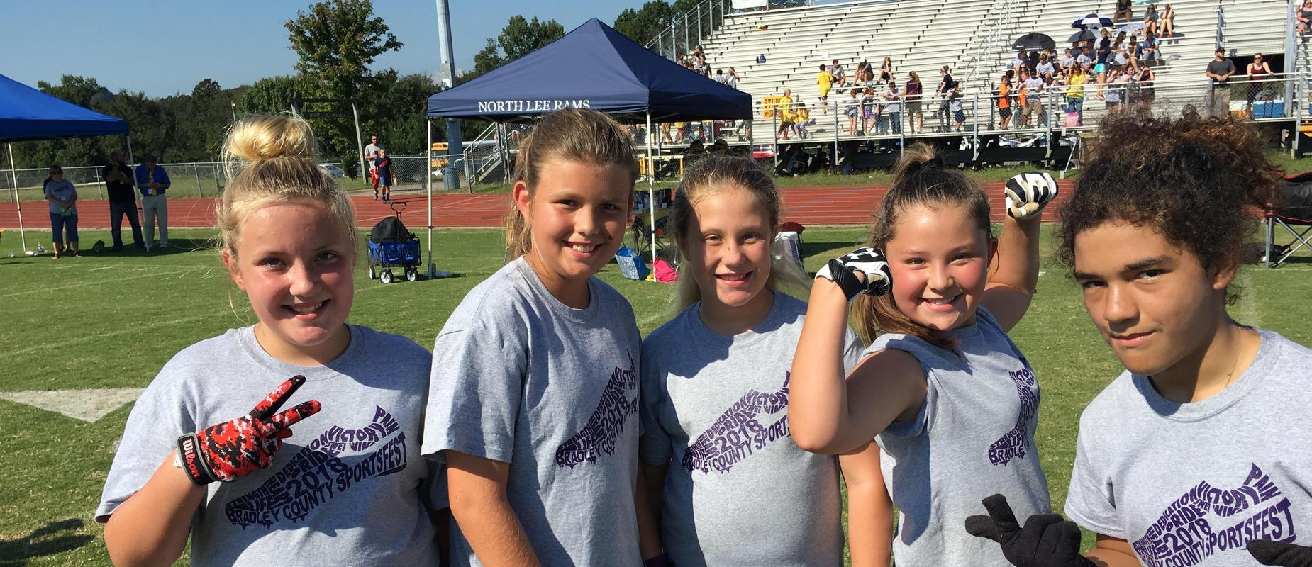 Sportsfest athletes