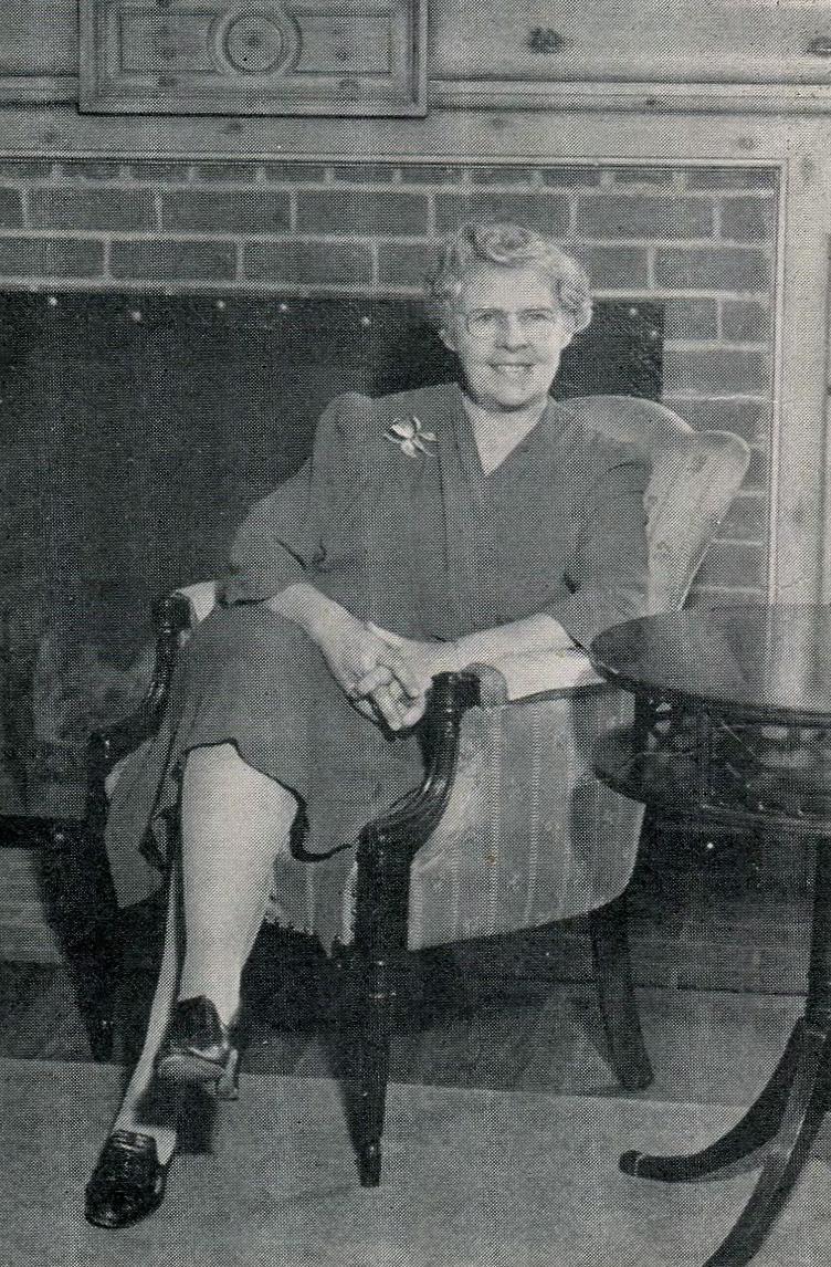 Alice Reiterman in the Reiterman House