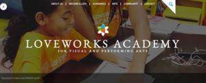 LoveWorks homepage