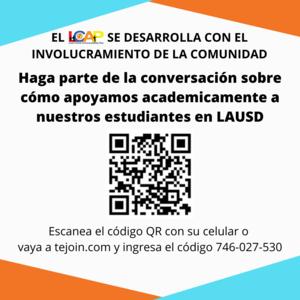 Community Feedback Flyer in Spanish