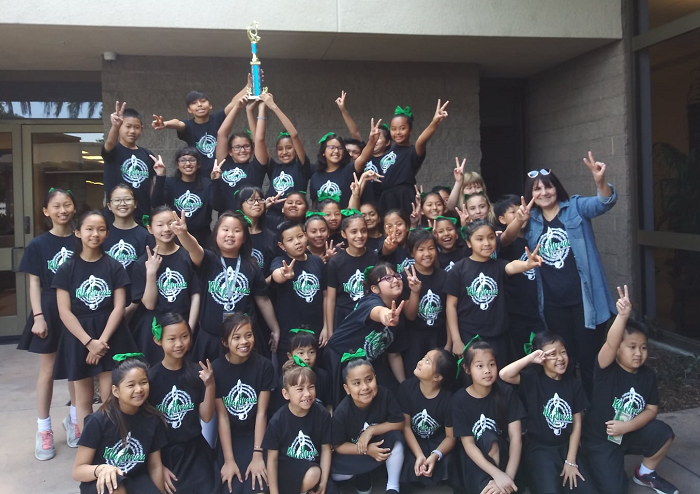 Rhythmax wins first place at the Knott's High Notes Festival!