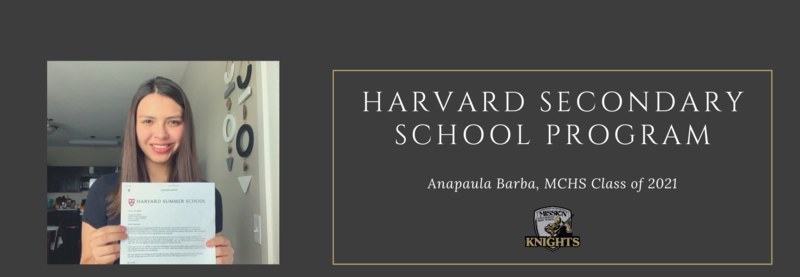 Another Knight Accepted to Harvard's Summer Program! Featured Photo