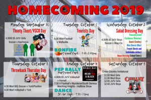 Homecoming 2019 Poster