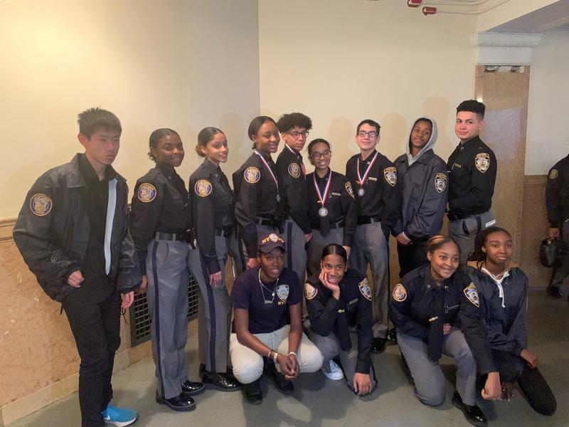 NYPD High School Explorers Win! Featured Photo