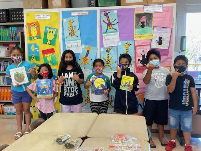 photo of Ms. Ma's artists