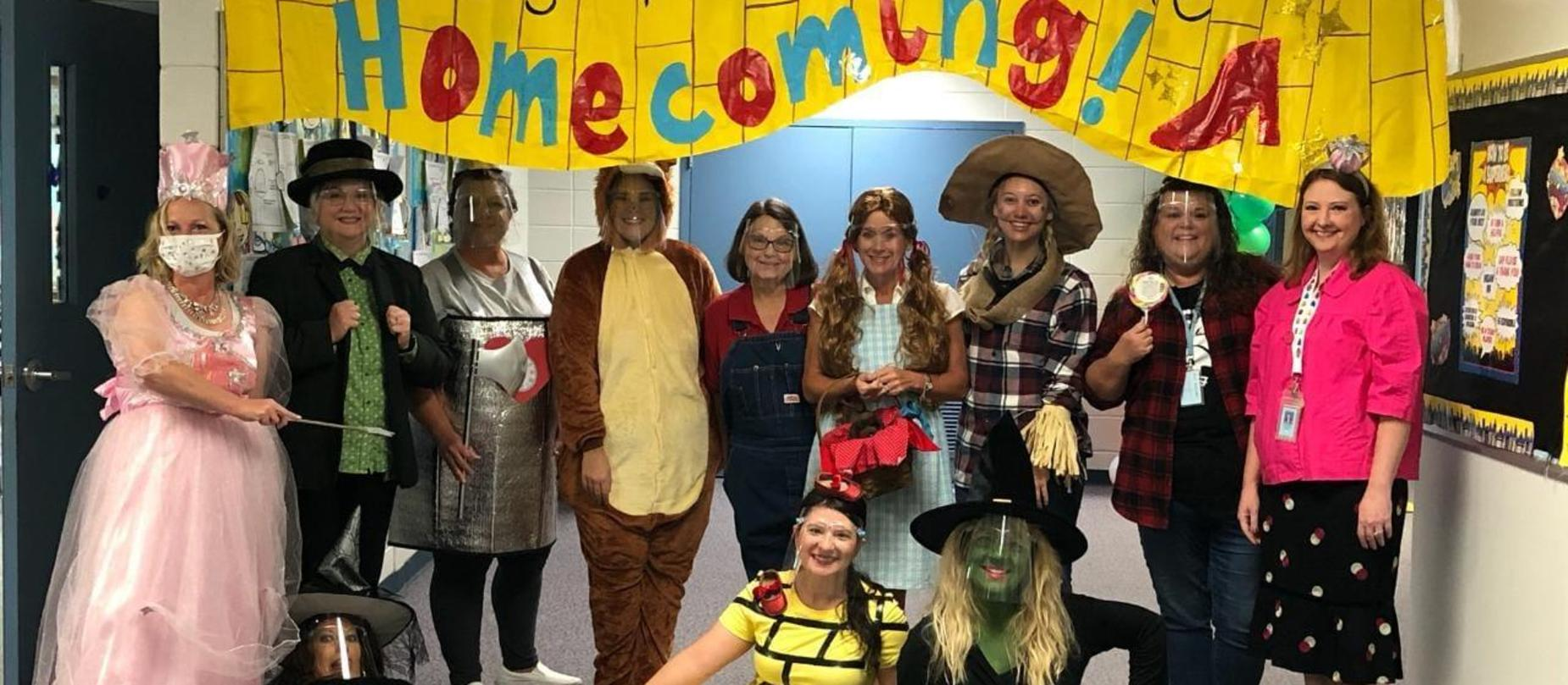 3rd Grade Teachers Homecoming Week