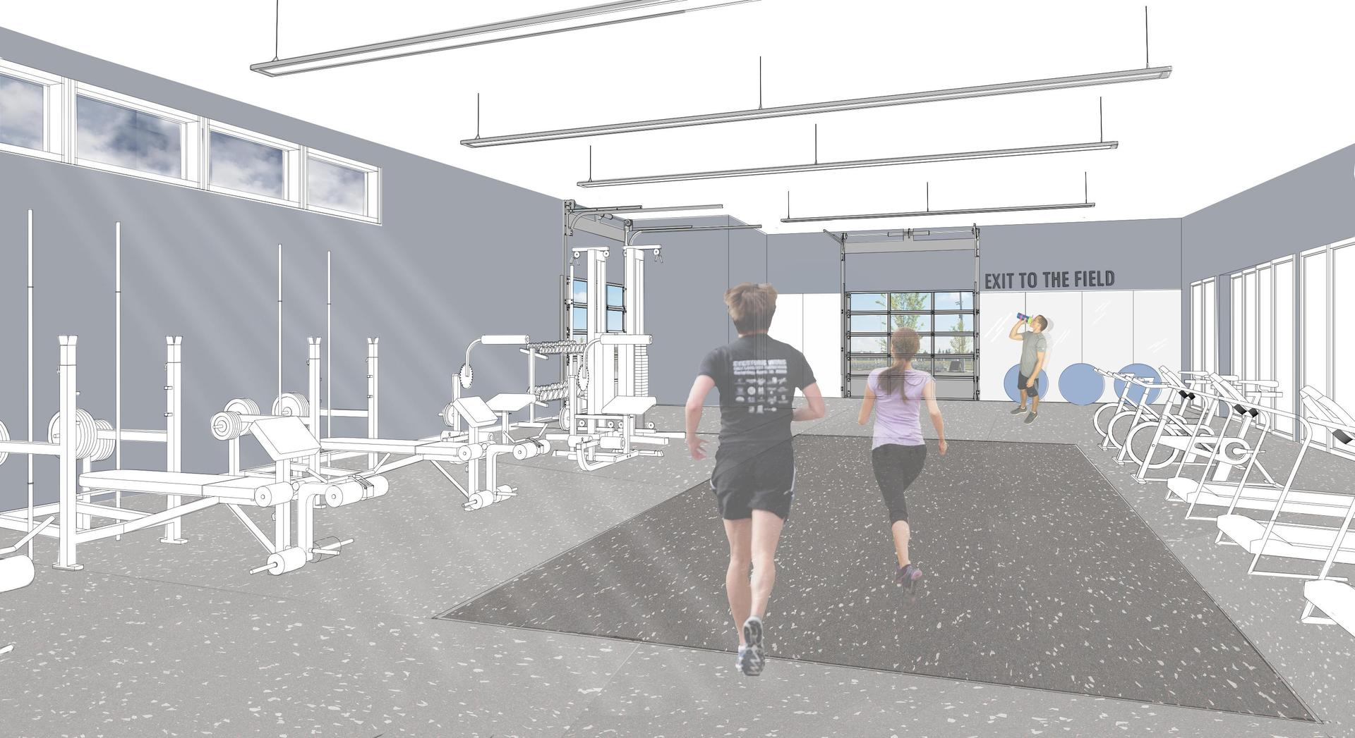 saalfeld athletic center fitness room