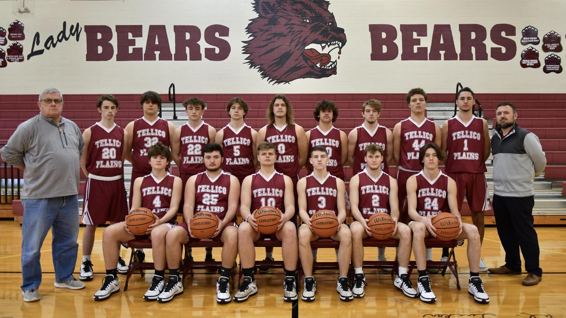 2020-2021 Basketball Team