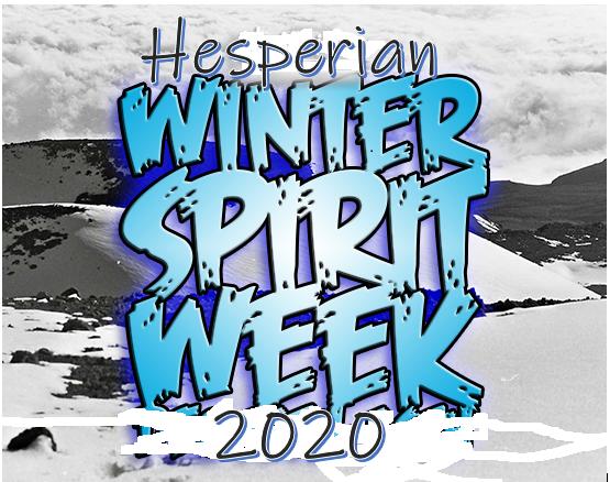 Winter Spirit Week text