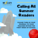 Calling All Summer Reader Picture