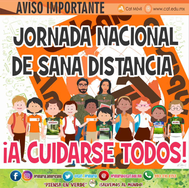 PRIMARIA: Jornada Nacional de Sana Distancia Featured Photo