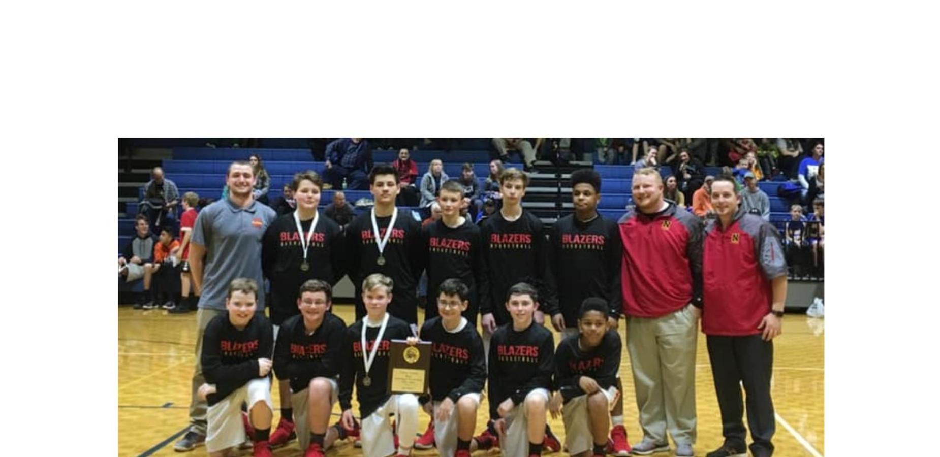Photo of Nolachuckey boys basketball team