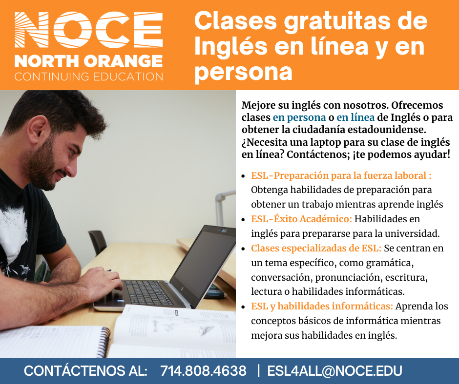 NOCE Flyer.Spanish