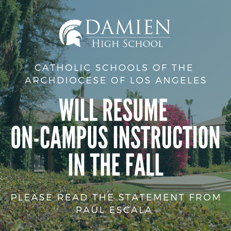 Catholic schools of the Archdiocese of L.A. will resume on-campus instruction in the fall Featured Photo