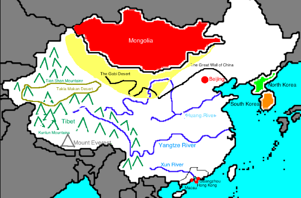 labeled map of ancient china Social Studies 6th Grade Coach Taylor Hill Bon Lin Middle School labeled map of ancient china