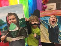 Kids have fun