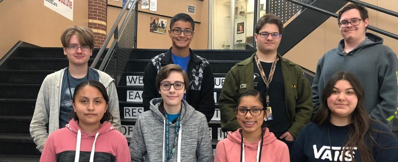 Global High School students of the month