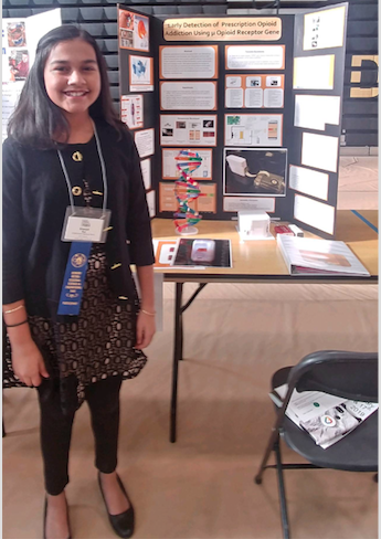 Gitanjali Rao Best in Science Fair