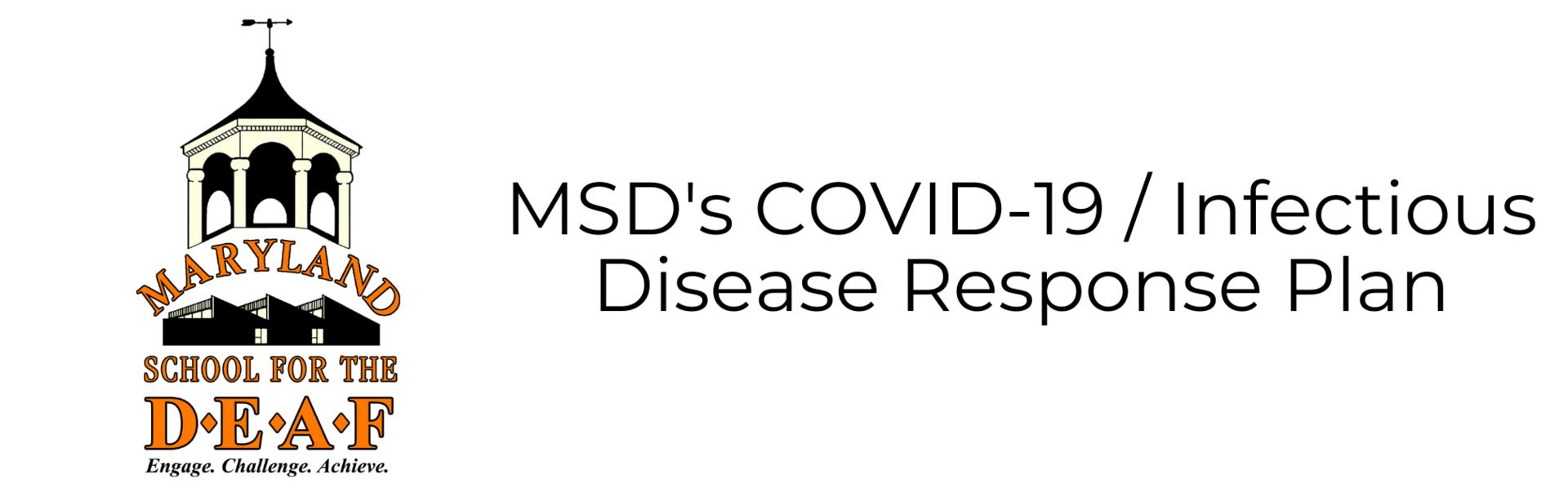 MSD's Response Plan