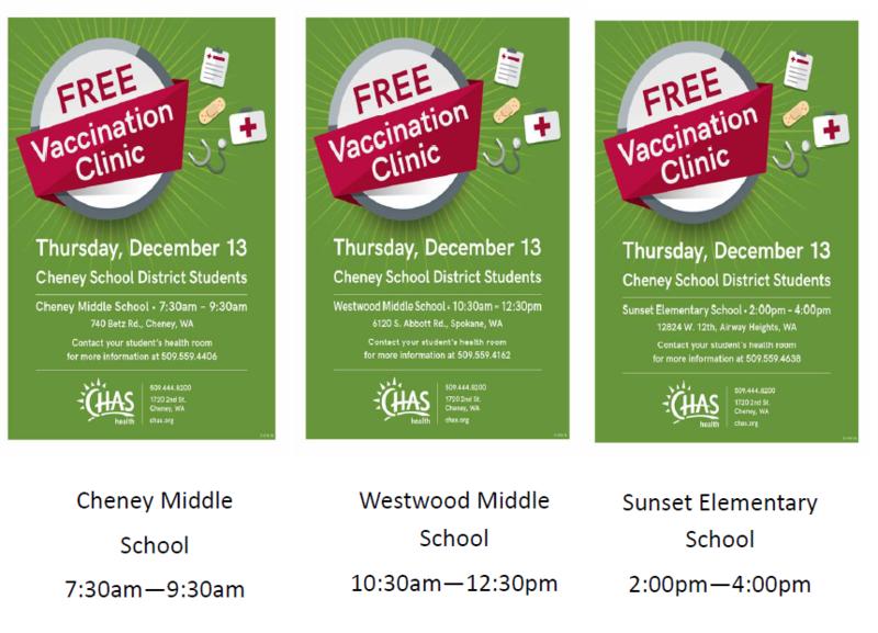 Free Vaccination Clinic Thumbnail Image