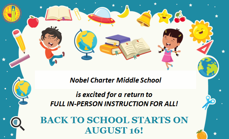 Back to School Starts on August 16th! Featured Photo