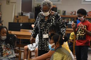 AR Kick Off Frazier Elementary School Linda Jennings