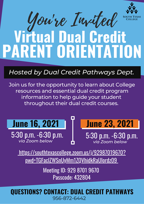 Virtual Dual Credit Parent Orientation Featured Photo