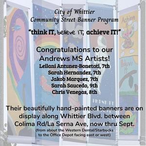 City of Whittier Community Street Banner Program