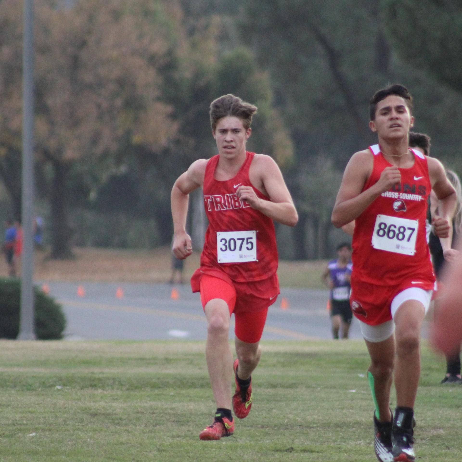 Nick Upton running
