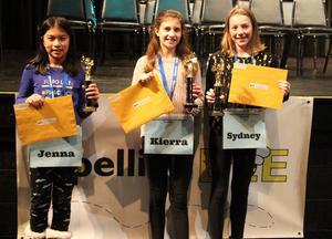 Gananda 2019 Spelling Bee Winners