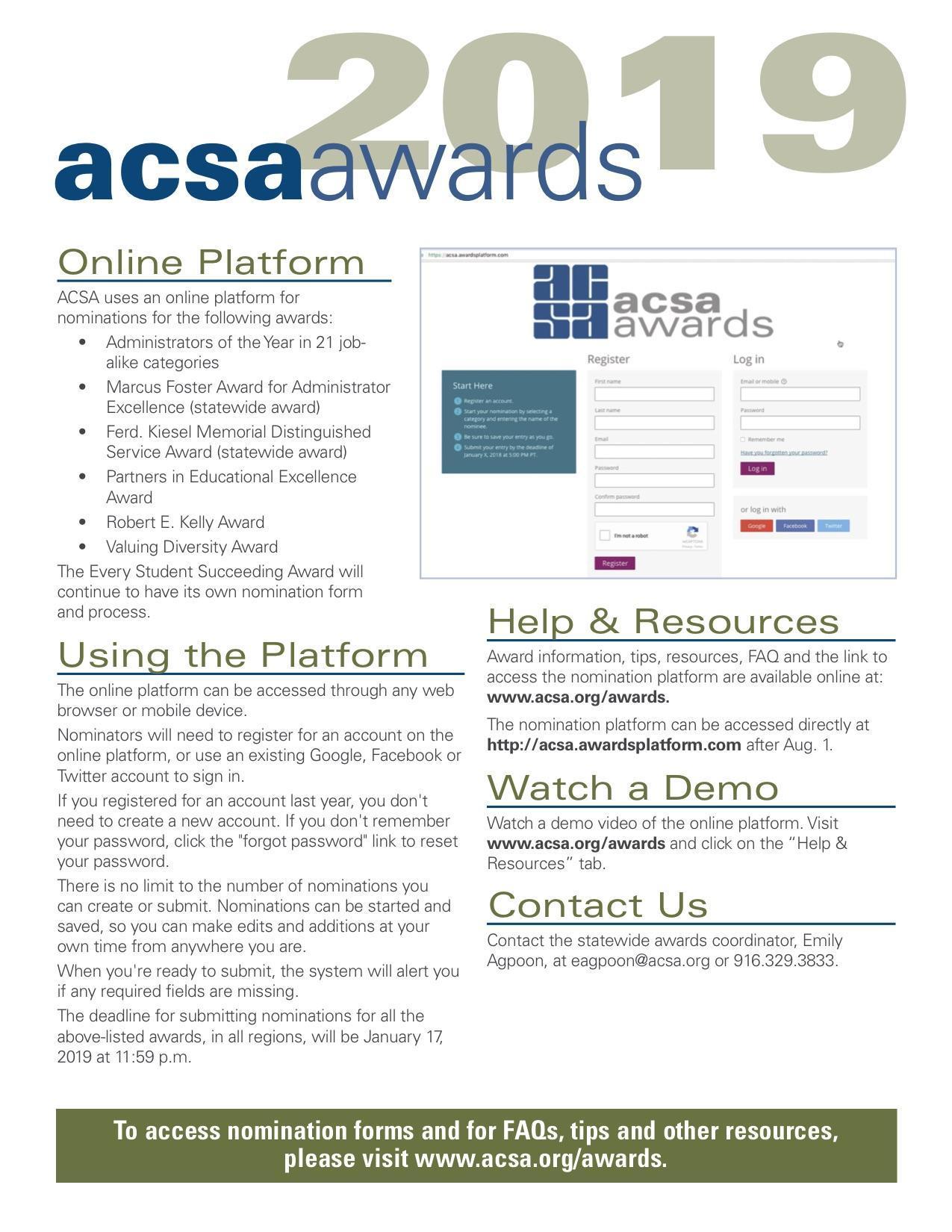 ACSA Region 16