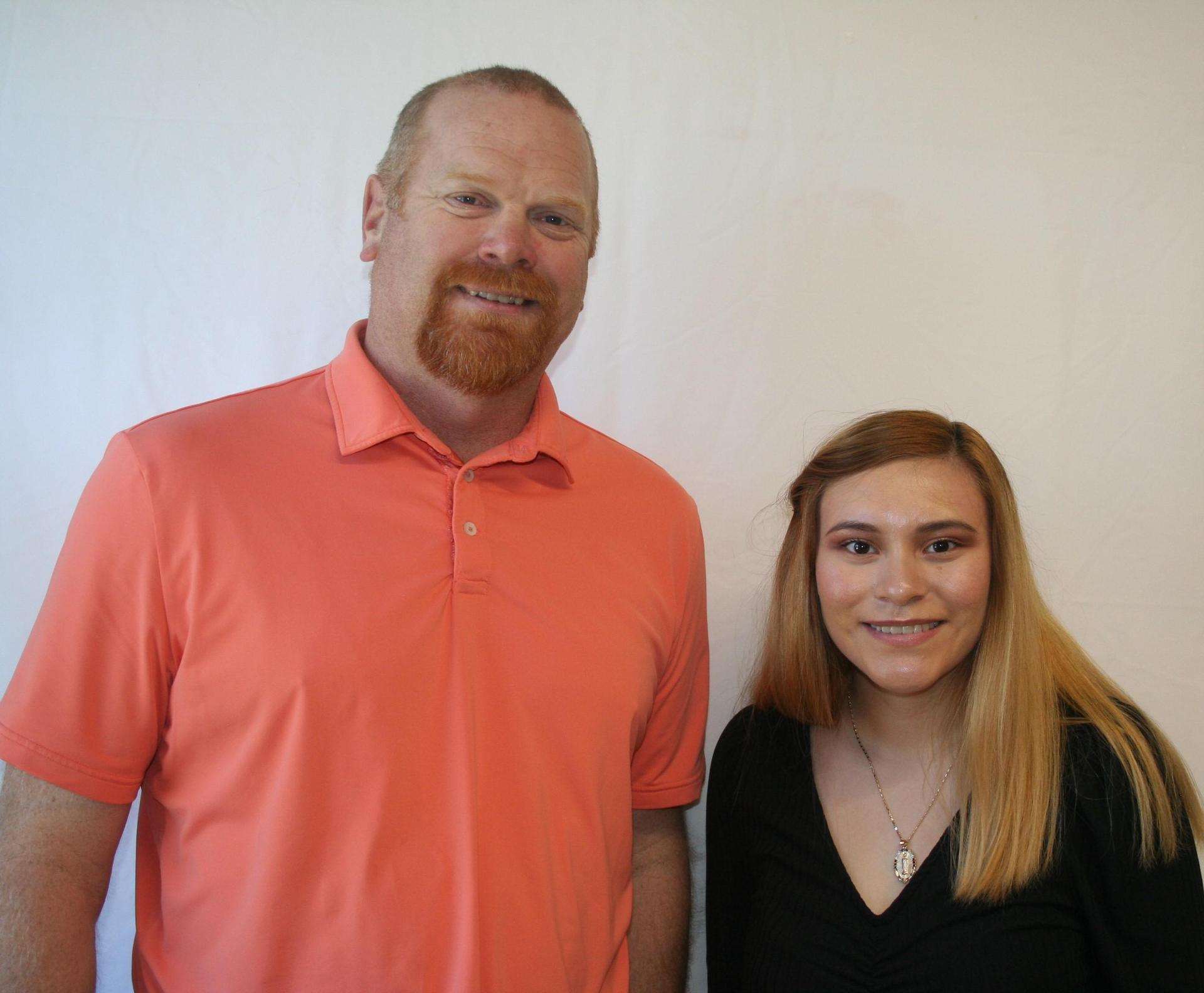 Mr. Edwards and Lisbeth Neri