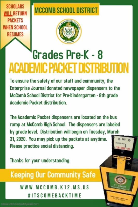 Academic Packet Distribution