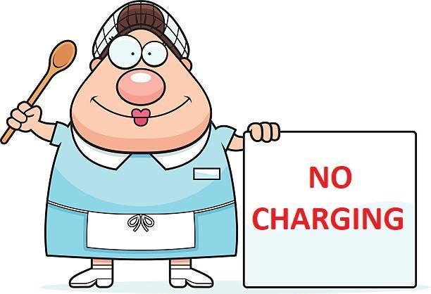 No Charging