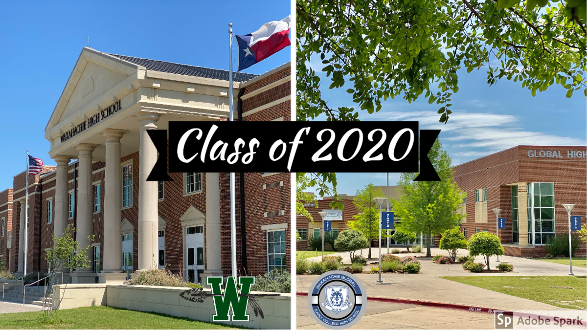 entrance to waxahachie & global high schools