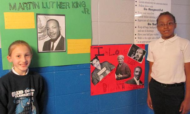 Grand Coteau Elementary Celebrates Black History Month