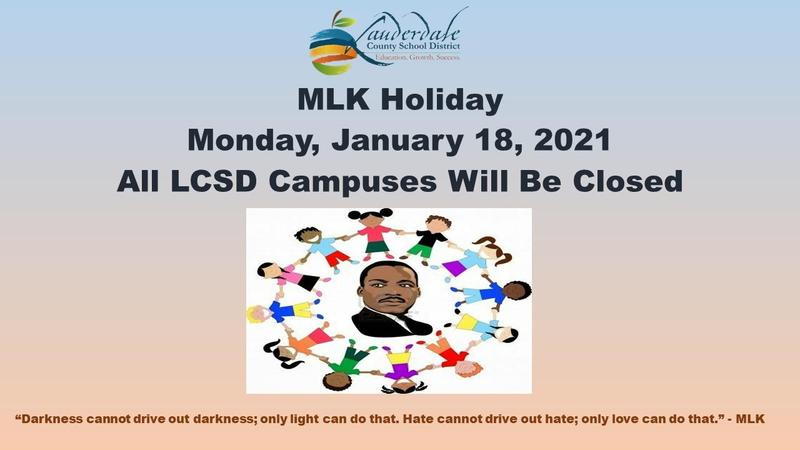 Dr. Martin Luther King, Jr. Holiday Graphic