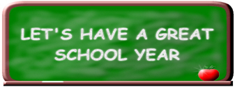 "a graphic that says ""Let's have a great school year."