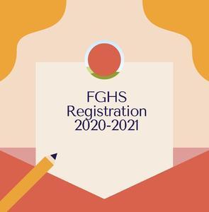 FGHS Registration 2020-2021 Flyer