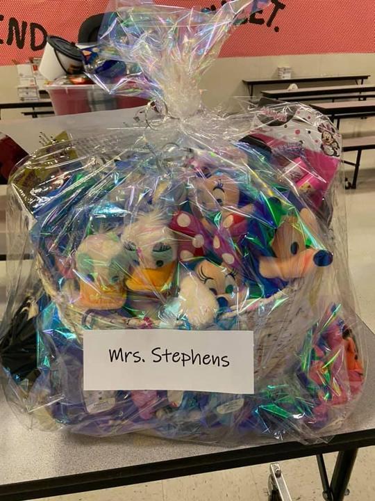 Mrs. Stephens' M.I.C.K.E.Y Basket