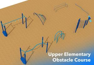 Upper Elementary Obstacle Course