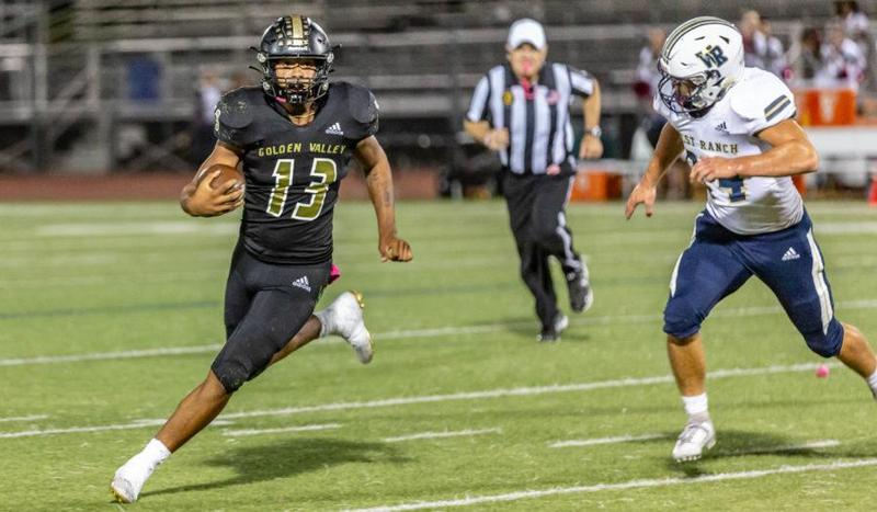 Kaelin named Foothill League Football Player of the Year Featured Photo