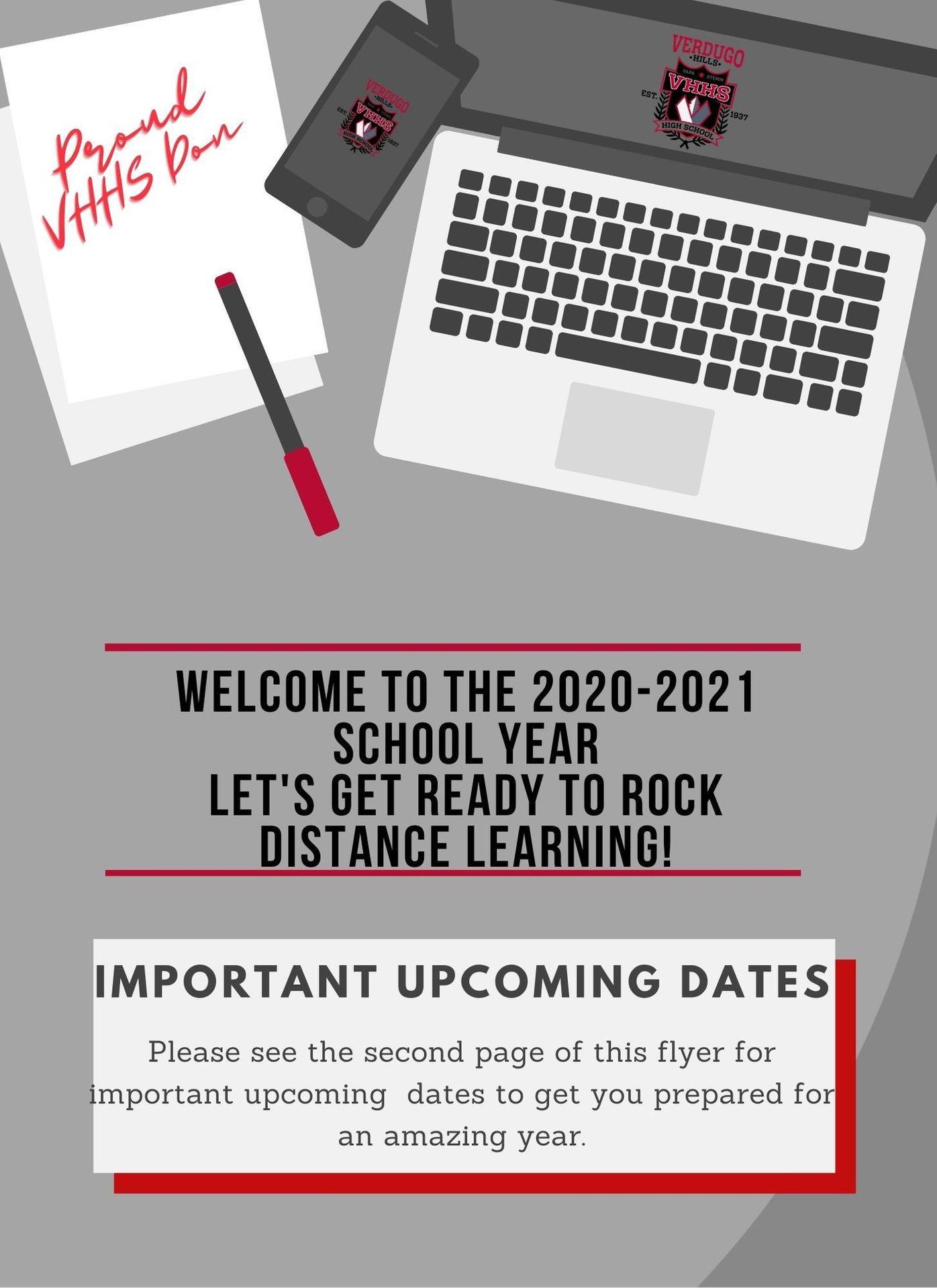 Grades 10-12 Important Dates