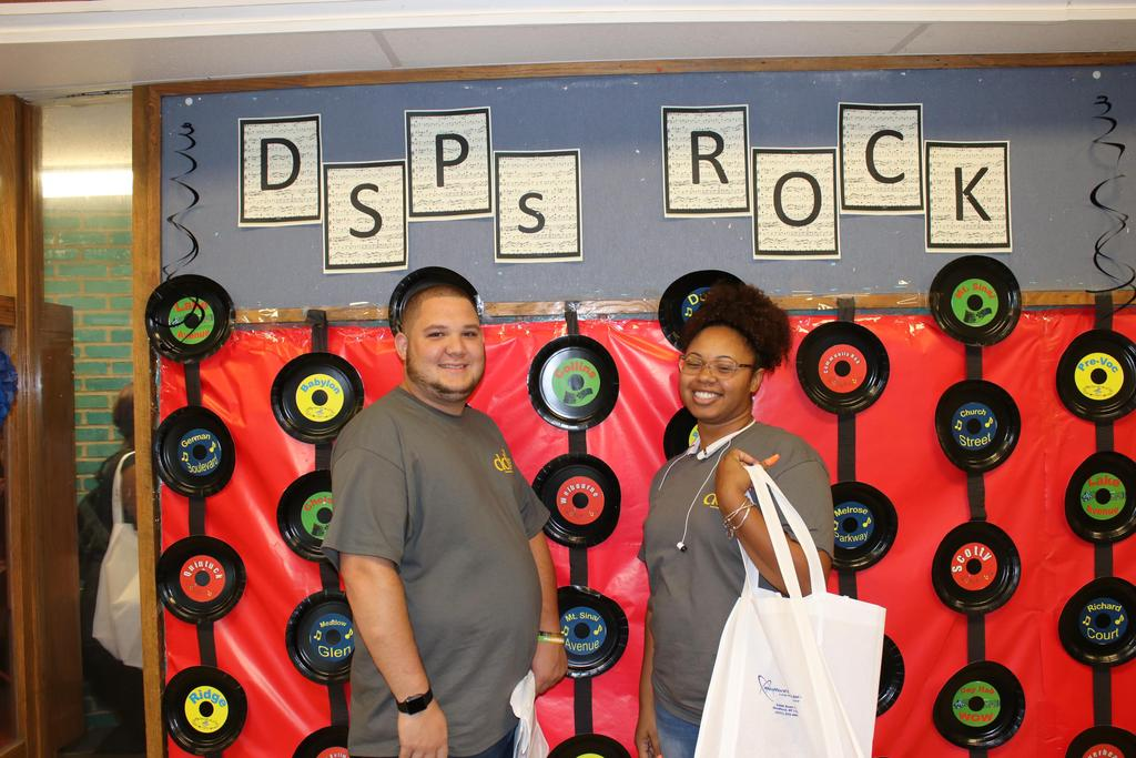 Staff enjoying DSP Week