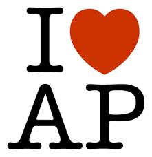 I love AP logo