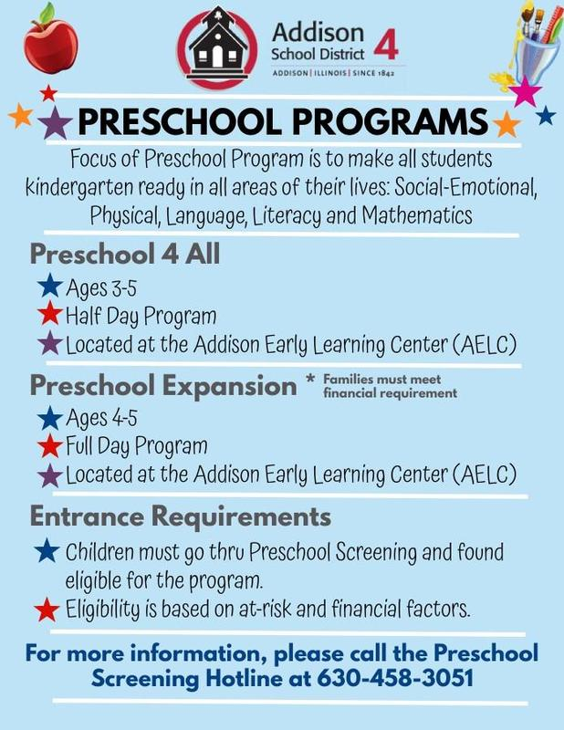 preschool flyer