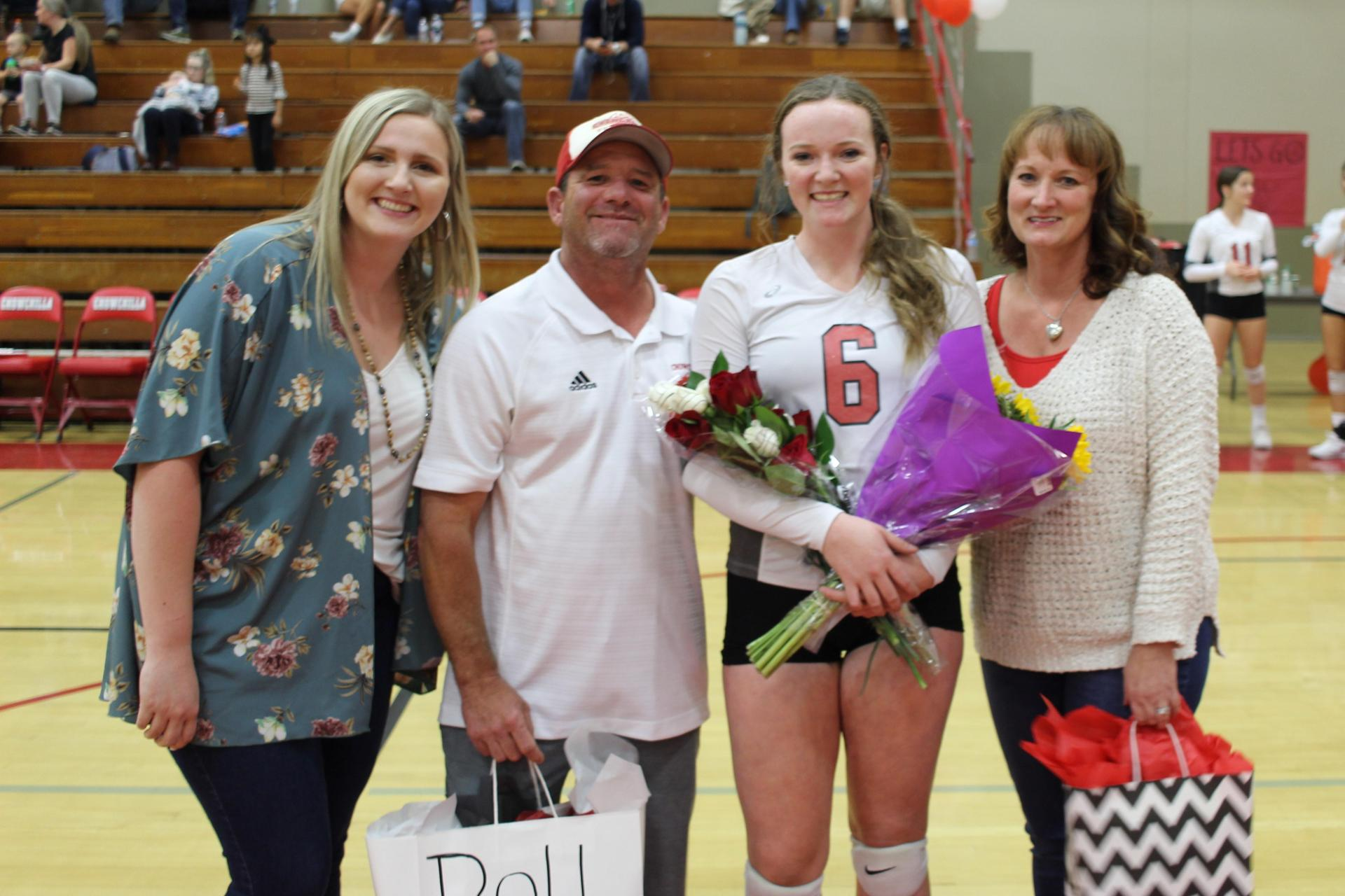 Tori Calley with family