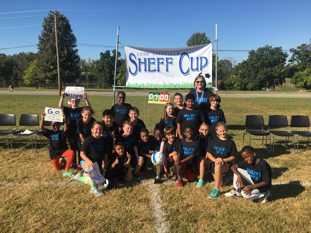 Mrs. Penley 3rd Grade Sheff Cup Winners