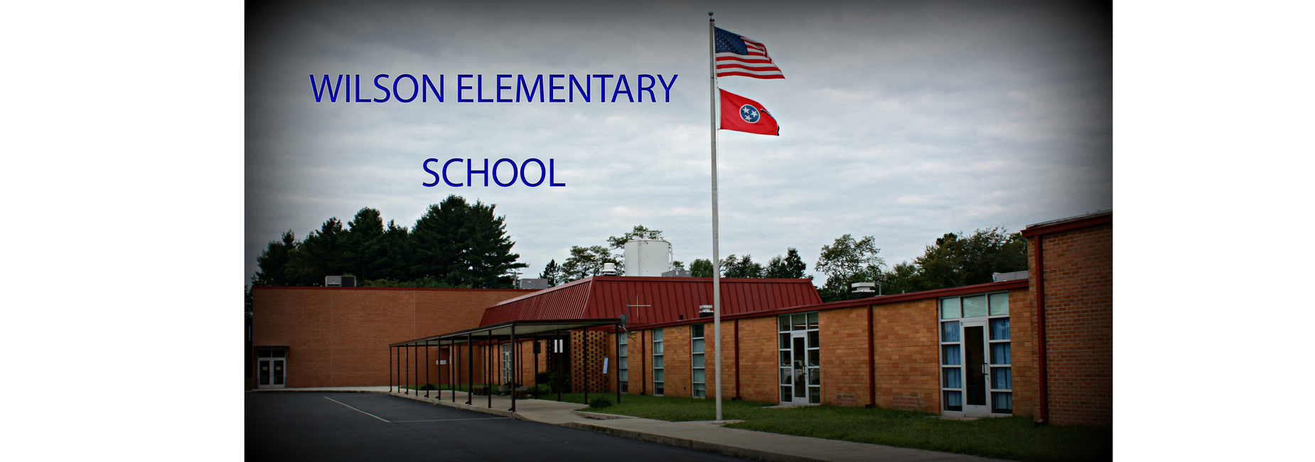 image of the front of Wlson Elementary School