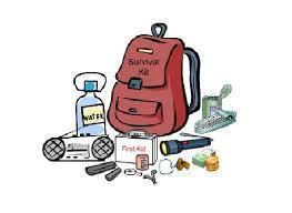 Make a bag to survive 3 days